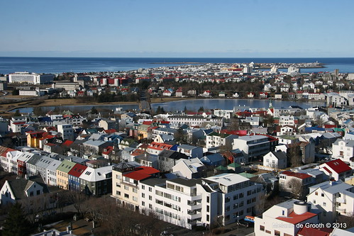 View from Hallgrimskirkja Church Tower