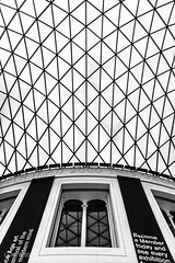 British Museum (La Viz) Tags: london rooftop glass normanfoster bloomsbury cupola dome britishmuseum atrium londra greatcourt vetro fosterandpartners atrio copertura laviz