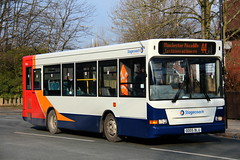Stagecoach Manchester 33866 OO05BLU in Gatley (Gobbiner) Tags: