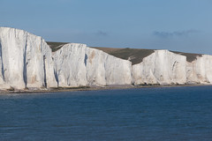 Short Brow and Rough Brow   Seven Sisters walk   July 2016-56 (Paul Dykes) Tags: southdowns southdownsway southcoast coast cliffs sea shore coastal englishchannel sussex england uk seaside sun sunnyday chalk downs hills countryside
