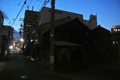 nagoya15619 (tanayan) Tags: night view urban town road street alley aichi nagoya japan nikon j1