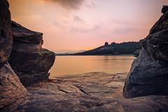 Heavenly Sunset (Dahai Z) Tags:     beijing china garden rock sky summer2016 summerpalace sunset water yiheyuan extremedepthoffield