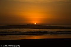 Sunset Beach (seba_eseb) Tags: sun sunse bea desembocadura san antonio chile photographer