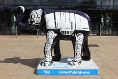 56a - Herd Of Sheffield - Skywalker (Slimboy Fat) Tags: elephant herdofsheffield sheffieldchildrenshospital skywalker sheffield england unitedkingdom gb