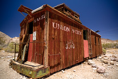 Union Pacific Caboose (Ben Reed) Tags: abandoned adventurethatislife agameoftones americana antique buildings caboose california carriages createexplore deathvalleynationalpark desert deserted earthpix explore gasstation getoutdoors getoutside ghosttowns goexplore gooutside greatbasindesert highway keepexploring keepitwild lifewelltravelled modernoutdoorsman nevada passionpassport railways rhyoliteghosttown road roadtrip roadtrippin ruins train trains travel vintage westcoast wildernessculture