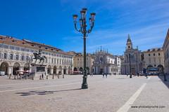 Piazza San Carlo (doveoggi) Tags: 9206 city italy piedmont turin piazzasancarlo piazza