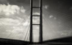 bridge (hansekiki ) Tags: rgen stralsund icm intentionalcameramovement slowshutter iphone bridge brcke ostsee balticsea