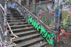 Hantos (NJphotograffer) Tags: graffiti graff new jersey nj bumtrail riverwalk hantos