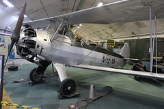 Focke-Wulf Fw 44J (Bjrn Steiner) Tags: fockewulf fw 44j gteborg areoseum the 44 is 1930s german twoseat biplane known stieglitz goldfinch it was produced by company pilot training sport flying aircraft eventually built under license several other countries