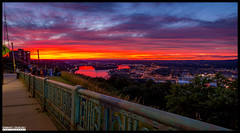 Sunset equals high spirits (Chinmay Avachat Photography) Tags: pittsburgh pennsylvania pa mountwashingtonlookout downtown alleghany monongahela river confluence 4thofjuly skyline usa canon rebel t5i 700d 1855stm kitlens landscape city us unitedstatesofamerica america northamerica na dslr photography chinmayavachatphotography cap copyright allrightsreserved american architecture urbanlandscape urban moments creative commons flickr flickriver explore best camera art lens photooftheday picoftheday beautiful composition potd pictureoftheday