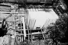working site (georgios a.v.) Tags: nikkormatel nikkorh3528 primelens slr mflenses greece monochrome blackandwhite kodakprotmax100 filmphotography agfarodinal ilfordrapidfixer