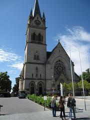 Pfarrkirche St. Marien (Yvonne IA) Tags: germany badhomburg pfarrkirchestmarien pfarrkirche stmarien