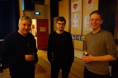 Richard, Adam and Rob (Three Triple R) Tags: broadcastermeeting2016 radiothon2016 ajewelinthejunkheap rrr rrr1027fm