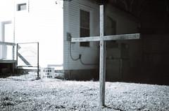 Jesus sees us. (#blindowlunderground) Tags: urbex urbanexploration ue abandoned abandonment vacant vacancy art love blindowlunderground decay beauty passion nikon slr jesus christianity christ church cross