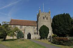 Wye Village Church (Adam Swaine) Tags: church churches kent village villages wye stourvalley parishchurch canon britain 2016 swaine summer eastkent churchyard rural