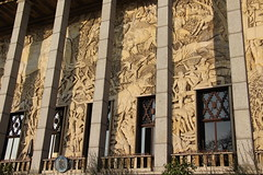 Paris - Palais de la Porte Dore (corno.fulgur75) Tags: pars parigi parijs pary pa iledefrance france francia frana frankrijk frankreich frankrig frankrike francja francie 12earrondissement palaisdelaportedore portedore citnationaledelhistoiredelimmigration musedelimmigration muse museum march2016 architecture albertlaprade laprade lonjaussely jaussely lonbazin bazin alfredjanniot janniot artdeco