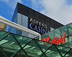 Aspers Westfield (Travis Pictures) Tags: london stratford stratfordcity e20 eastlondon newham city capitalsoftheworld shopping retail eastend westfield shoppingcentre shoppingmall nikon d5200 photoshop casino aspers england uk britain summer outdoors outside