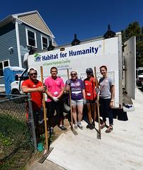 CC1_082316_0050 (SacredHeartUnivPix) Tags: sacredheartuniversity communityconnections volunteerprogramsandservicelearning volunteerism habitatforhumanity