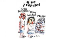 Ecco perch dovremmo essere Charlie Hebdo ancora una volta (SatiraItalia) Tags: charlie hebdo terremoto satira