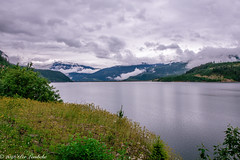 Revelstoke Reservoir (Per@vicbcca (Thanks for over 1Mill Views!)) Tags: canon eos30d revelstokereservoir britishcolumbia canada clouds mountains