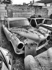 Dead Volvo (R~P~M) Tags: car automobile volvo wreck abandoned aylesbury bucks buckinghamshire england uk unitedkingdom greatbritain