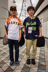 Yakkyu 041 (Dubai Jeffrey) Tags: baseball bestfriends giants jersey swallows tokyodome uniform yakkyu