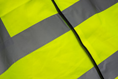 No 49 High Vis (happysnapper591) Tags: high visibility vest diagonals reflective material grey yellow 365