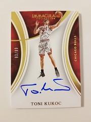 2015-16 Immaculate Auto Toni Kukoc #93/99 (buxheraj) Tags: 93