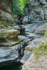 Watkins Glen Trail_0008 (sugarzebra) Tags: watkinsglen fingerlakes newyork waterfalls stream river longexposure timeexposure trail hiking statepark canon singhray