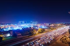 Traffic (strelar) Tags: sonya7r2 voigtlander voigtlander15mm doha qatar longexposure traffic streaks lights cityscape