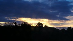 Sunrise in south Birmingham (ell brown) Tags: sunrise hallgreen birmingham westmidlands england unitedkingdom greatbritain tree trees clouds mobile mobileshots huawei huaweip9 schoolrd schoolrdhallgreen shirleyrd shirleyrdhallgreen roof roofs birminghamuk
