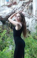 DP1U0095 (c0466art) Tags: charming attractive ukraine girl dasha keelung photography society portrait activity black long tight skirt elegant pose action cool feeling light canon 1dx c0466art