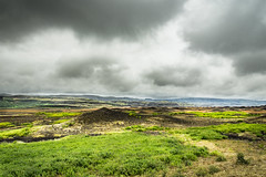 Planet Earth (webeagle12) Tags: iceland nikon d7200 europe mountains landscape grass moss lava fields road gravel vegetation route32