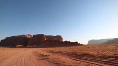 IMG_1877 (sheepman) Tags: wadirum jeep sunset