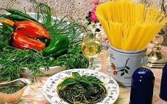 Cucina siciliana - Spaghetti alle erbe (RicetteItalia) Tags: menta prezzemolo spaghetti acciughe