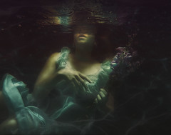 Buoyancy (R. Keith Clontz) Tags: fairytale fantasy underwater floating sinking buoyant conceptualart rkeithclontz leahspitz visualiphotography