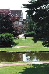 Germany.  June 12th.-20th. 1999 (Cynthia of Harborough) Tags: 1999 architecture art parks paths people statues streams trees