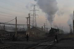 I_B_IMG_9087 (florian_grupp) Tags: asia china steam train railway railroad fuxin liaoning sy coal mine 282 mikado steamlocomotive locomotive