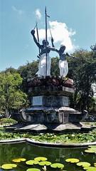 Taman Puputan (SqueakyMarmot) Tags: travel asia indonesia bali 2016 denpasar tamanpuputan centralsquare fountain statues