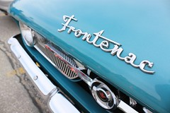 Ford Frontenac (chearn73) Tags: winnipeg manitoba ford frontenac car classic badge writing typography font