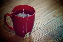 Tea Time (phrawr) Tags: red time tea mug teatime redmug