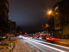 Kyrkogrdsgatan (afeman) Tags: winter snow weather seasons sweden sony uppsala sverige uppsalacounty nex7 sigma19mm28exdn