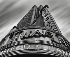 Meet me at Radio City! (wowography.com) Tags: nyc bw usa ny skyline architecture facade photoshop landscape nikon theatre rockefellercenter monotone icon artdeco nik radiocitymusichall 6thavenue rockettes lightroom hss 18200mm d90 reddit wowography 131205 2013 cs5 silverefexpro cityporn wowographycom