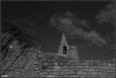 Eglise (Florette Photographie) Tags: mer church stone wall bell pierre sur mur fos arbre eglise cloche priere culte fossurmer clochet