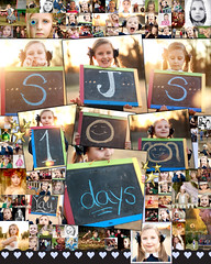 """100 Days of School"" Project (sugarmagphoto) Tags: school light shadow portrait girl collage children photo child 100days"