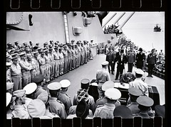 The Japanese surrender on board the U.S.S. Mis...