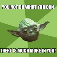 Yoda Speaks...