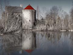 Homage to Ayne at the Abandoned Rennaissance Fair, The Keep (r.w.dawson) Tags: lake abandoned virginia us pond ruins va 2013 staffordcounty