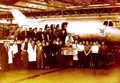 1965 Hawker Siddeley history Broughton Chester (mel jones 01244) Tags: jones mel chester broughton hawker siddeley penyffordd