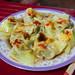 Spicy Chicken Dumplings in the Bia Hoi Junction - Hanoi, Vietnam